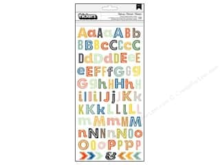 Thickers Alphabet Stickers Open Road Highway