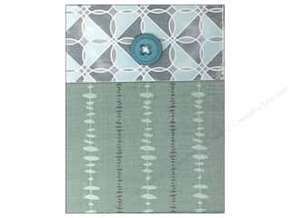 Molly & Rex Note Button Pocket Pad Geometric Linen (2 piece)