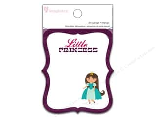 Imaginisce Paper Pad Little Princess Die Cut Tags