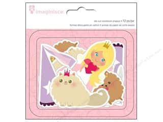 Imaginisce Die Cut Little Princess Cdstk Blnd Hair