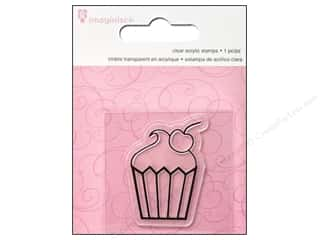 Imaginisce Stamps: Imaginisce Snag Em Stamp Little Princess Cupcake