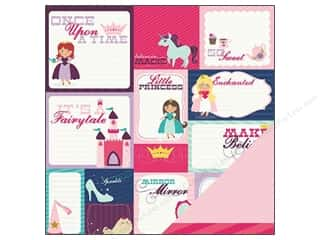 Imaginisce Paper 12x12 Little Princess Once/Time (25 piece)