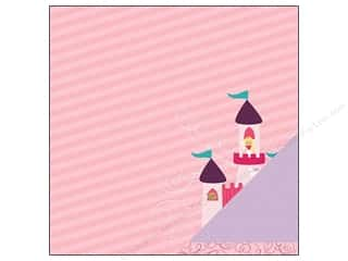 Imaginisce Paper 12x12 Little Princess Castle Frnd (25 piece)
