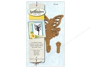 Embossing Aids Angels/Cherubs/Fairies: Spellbinders D-Lites Die Fairy Cierra