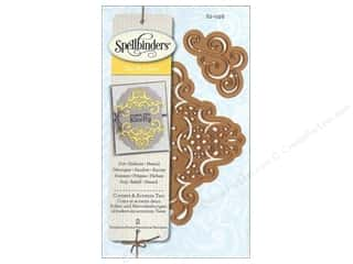 Spellbinders Die D Lites Corners & Accents Two