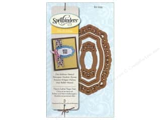 Spellbinders Die D Lites Fancy Label Tags One