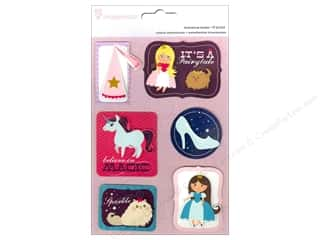 Imaginisce Dimensional Stickers: Imaginisce Stickers Little Princess Stackers