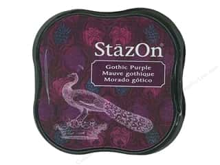 Tsukineko StazOn Midi Ink Pad Gothic Purple