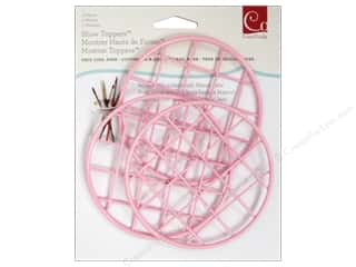 Metal & Tin paper dimensions: Cosmo Cricket Embellishment Show Toppers Grid Lids 3pc Pink