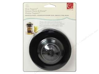 Metal & Tin paper dimensions: Cosmo Cricket Embellishment Show Toppers Knob & Lid Black