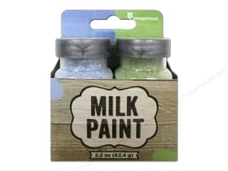 Plaster Children: Imaginisce Paint Milk Combo Pastel Blue/Pastel Green