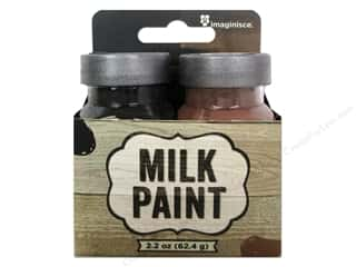 Painting Brown: Imaginisce Paint Milk Combo Black/Brown