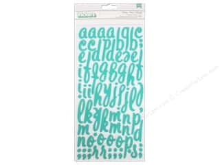 Crate Paper Alphabet Stickers: American Crafts Thickers Stickers Crate Paper Oh Darling Foam Darling