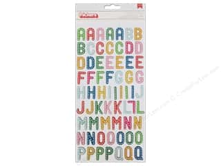 Thickers Alphabet Stickers Birthday Wishes Celebrate
