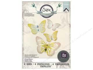 Wing And A Prayer Design: Sizzix Die Prima Thinlits Winged Beauties