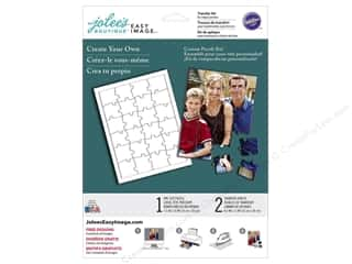 Irons: Jolee's Boutique Easy Image Transfer Sheets Puzzle Kit