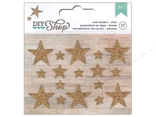 American Crafts Cork Stickers DIY Shop Stars