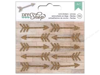 Cork $1 - $2: American Crafts Stickers DIY Shop Arrows