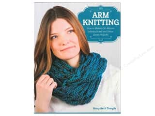 knitting books: Arm Knitting Book