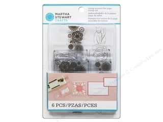 Straight Stitch Rubber Stamping: Martha Stewart Stamp Stamp Around The Page Stitched Calligraphy & Doily Allover