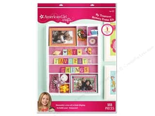 Picture/Photo Frames Scrapbooking & Paper Crafts: American Girl Kit My Treasure Memory Frame