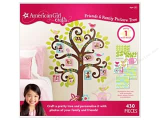 Children Crafting Kits: American Girl Kit Friends & Family Picture Tree