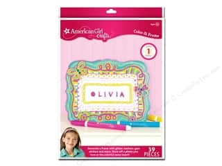 American Girl Stickers: American Girl Kit Color In Frame