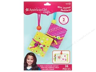 Beading & Jewelry Making Supplies Holiday Gift Ideas Sale: American Girl Kit Mini Journal Necklaces