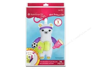 American Girl inches: American Girl Kit Mini Animal Clip Bear