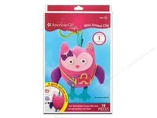 Dolls and Doll Making Supplies: American Girl Kit Mini Animal Clip Owl