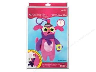 Doll Making Crafts with Kids: American Girl Kit Mini Animal Clip Dog