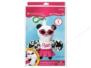 Dolls and Doll Making Supplies Kits: American Girl Kit Mini Animal Clip Panda