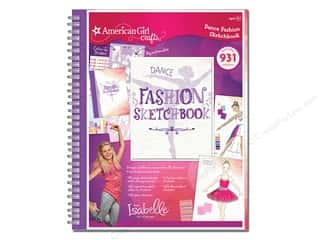 American Girl 2014 Girl of the Year Dance Fashion Sketchbook
