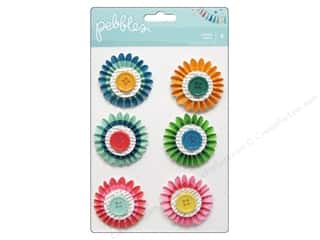 2013 Crafties - Best Adhesive: Pebbles Sticker Birthday Wishes Rosettes