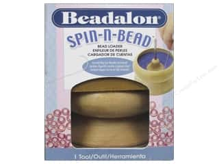 Clearance Blumenthal Favorite Findings: Beadalon Spin N Bead Loader Wooden