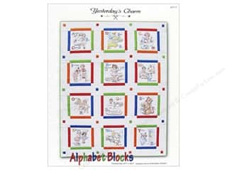 Books & Patterns ABC & 123: Yesterday's Charm Alphabet Blocks Pattern