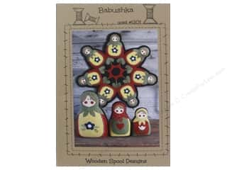 Kitchen Doll Making: Wooden Spool Designs Babushka Pattern