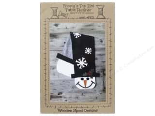 Wood Christmas: Wooden Spool Designs Frosty's Top Hat Pattern