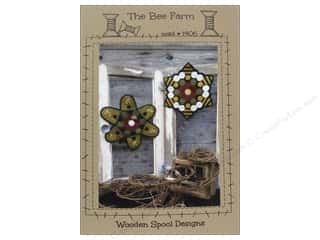 "Wool 11"": Wooden Spool Designs The Bee Farm Pattern"
