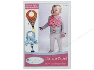 Vanilla House Quilting Patterns: Vanilla House Binkie Bibs Pattern