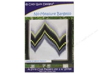 Fat Quarter / Jelly Roll / Charm / Cake Patterns: Cozy Quilt Designs No-Measure Bargello Pattern