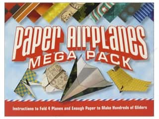 Sheet Vinyl Books & Patterns: Sterling Paper Airplanes Mega Pack Book
