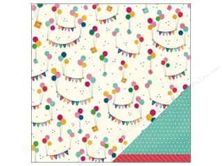 "Patterns Birthdays: Pebbles Paper 12""x 12"" Birthday Wishes Just For You (25 pieces)"