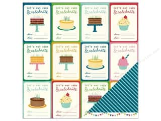 Pebbles Paper 12x12 Birthday Wishes You're Invited (25 piece)