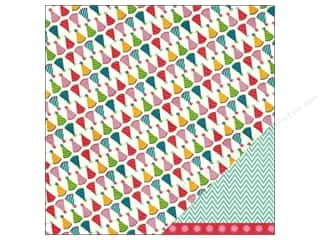 "Patterns Birthdays: Pebbles Paper 12""x 12"" Birthday Wishes Party Hat (25 pieces)"