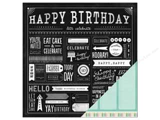 Pebbles Paper 12x12 Birthday Wishes Party Day (25 piece)