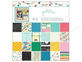 "Pebbles Inc Birthdays: Pebbles Paper Pad Birthday Wishes 12""x 12"""