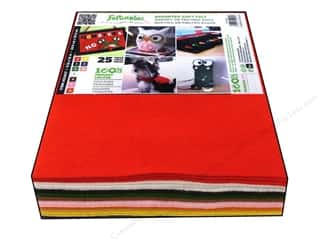 CPE Soft Felt 9x12 Astd Basic 25pc