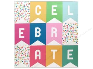 Cutting Mats Party & Celebrations: Pebbles Embellishment Birthday Wishes Perforated Banner Celebrate
