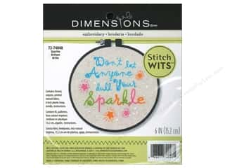 Sequins Dimensions: Dimensions Embroidery Kit Stitch Wits Sparkle